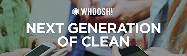 whoosh next generation of clean