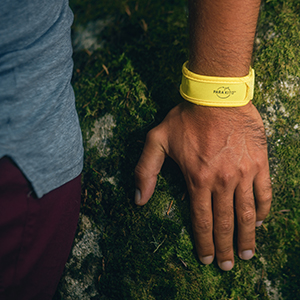 mosquito insect repellent bracelet wristband essential oils natural organic deet free citronella