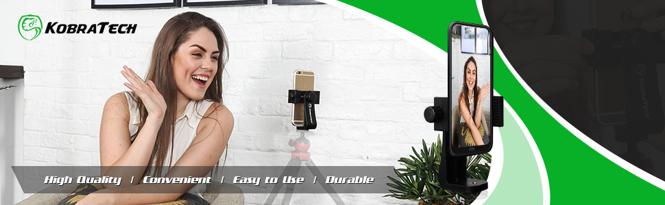 kobratech unimount 360 phone tripod mount iphone adapter holder attachment smartphone cell cellphone