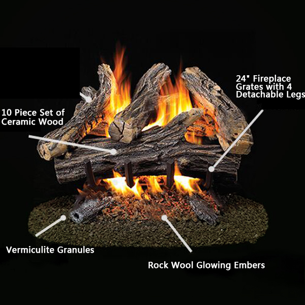 Amazon Com Stanbroil Vermiculite Granules For Gas Logs