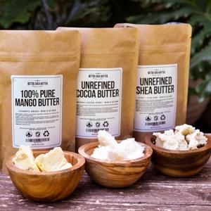 Mango, Shea and Cocoa Butters