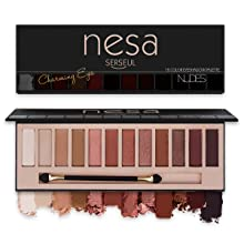 Nude D eyeshadow palette pigmented