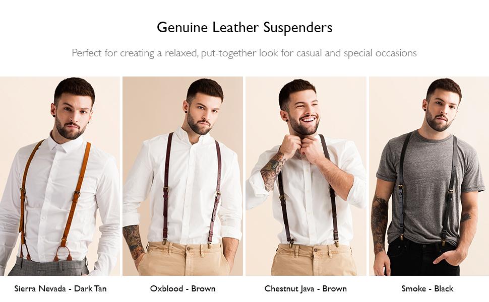 suspenders for men heavy duty work suspenders