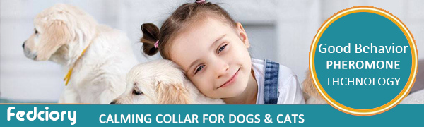 Fedciory Calming Collar For Dogs & Cats