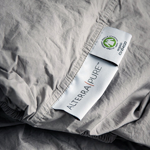 alterra pure offers organic percale cotton sheets and duvet covers as they are more durable