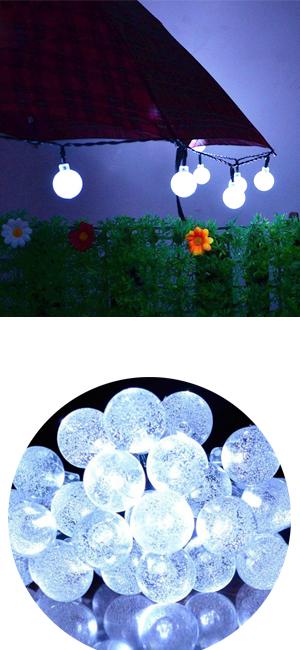 Amazon Com Bolansi Solar String Light 20 Ft 30led