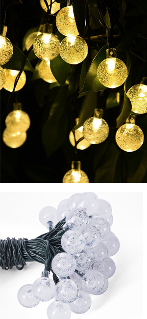 perfect holiday decorative lights the solar string lights illuminate during night add romantic and charming atmosphere to your home patio lawn garden