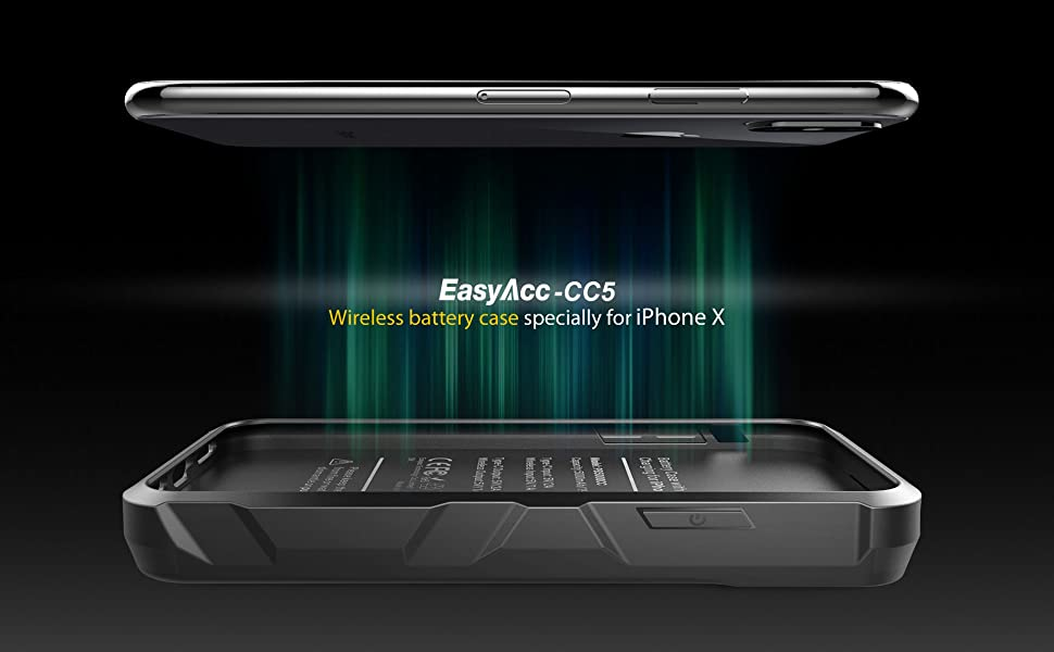 wireless battery case for iPhone X