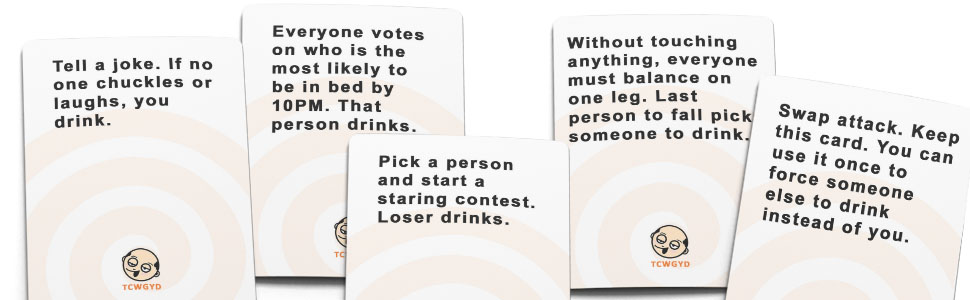 drinking card game, drinking game, party game, party card game, party cards, drinking games