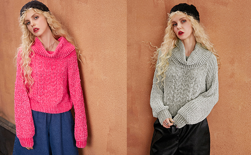 4410b1927 Elf Sack Women Pullover Knitted Jumper Sweater