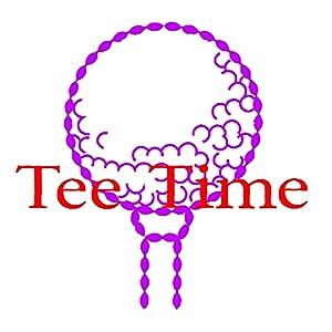 golfing tee and ball