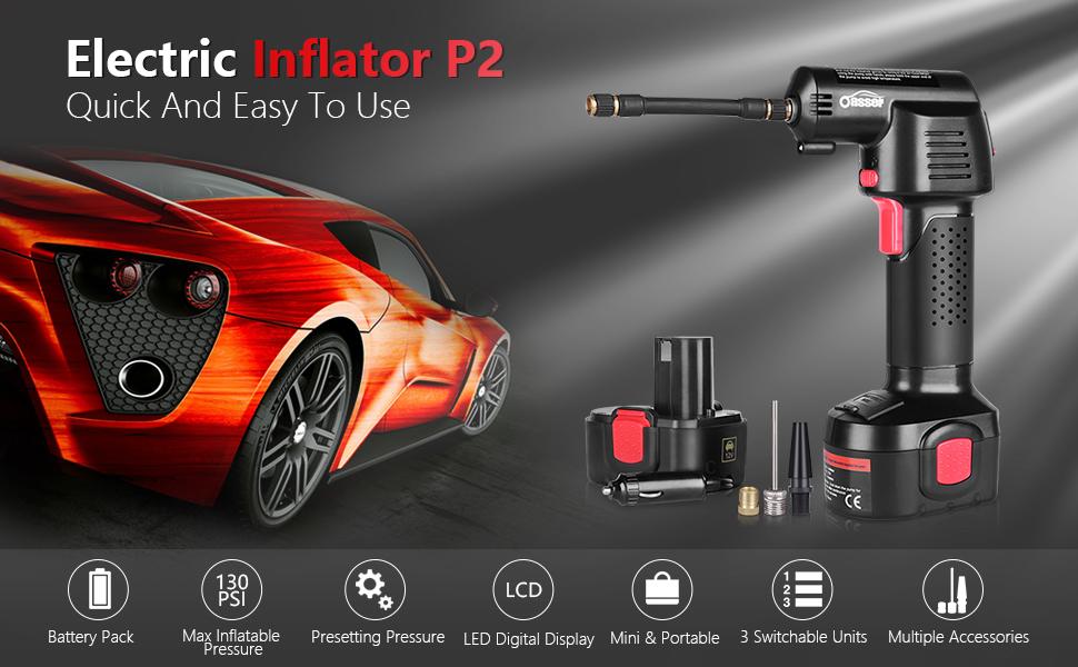 Electric Inflator air compressor