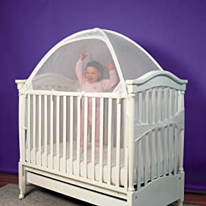 Are Crib Tents Dangerous??? & Amazon.com : Flash Sale - Nahbou Baby Crib Pop Up Tent: Infant Bed ...