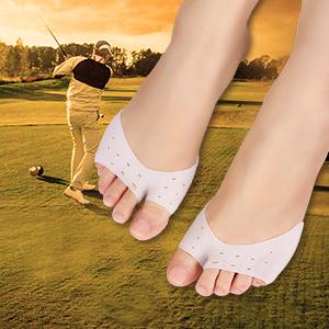 Amazon.com: Yosoo Ball of Foot Cushion Gel Bunion Pads