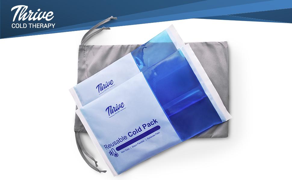 Amazon.com: Paquete de gel de compresa fría para hielo ...