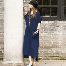 Objective Next Linen Shift Dress Size 10 Women's Clothing
