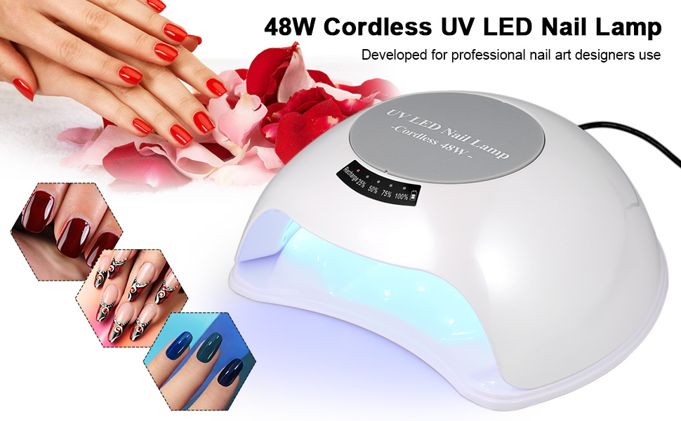 48w nail curing lamp