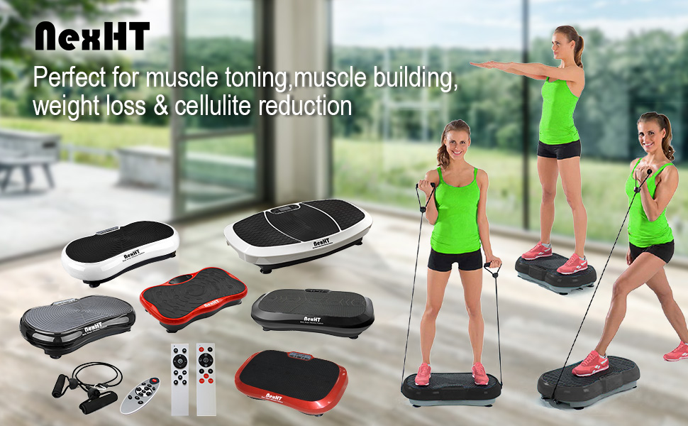 0d6526dec NexHT Fitness Body Shape Vibration Platforms are power by Inland Products  Inc