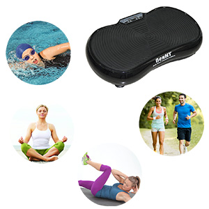 Amazon.com: Plataforma de vibración NexHT Fitness, máquina ...