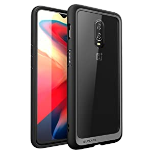 the best attitude 3f115 2fae9 SupCase [Unicorn Beetle Style Series Case for OnePlus 6T, Premium Hybrid  Protective Clear Case for 1+ 6t 2018 Release - Retail Package (Black)