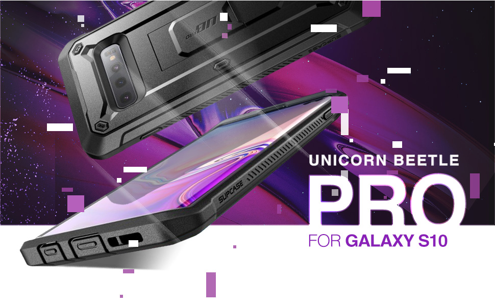 Supcase Galaxy S10 Plus S10 Unicorn Beetle Pro Case