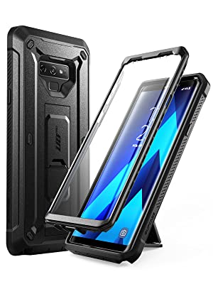 SUPCASE Unicorn Beetle Pro Series Design for Samsung Galaxy Note 9 Case, with Built-in Screen Protector & Kickstand Full-Body Rugged Holster Case for ...