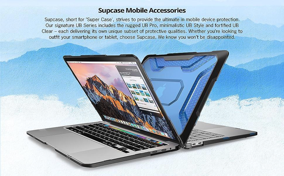 SUPCASE Unicorn Beetle Series Case for MacBook Pro 13 Inch 2019 2018 2017 2016, Slim Rubberized TPU Bumper Cover for MacBook Pro ...