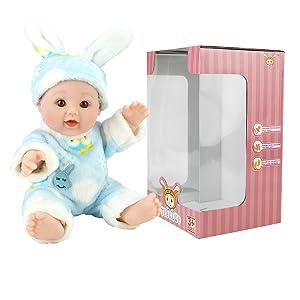 Amazon.com: TUSALMO Muñecas de bebé de juguete de 12 ...