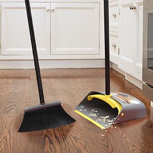 Long Handled Broom Dust Pan