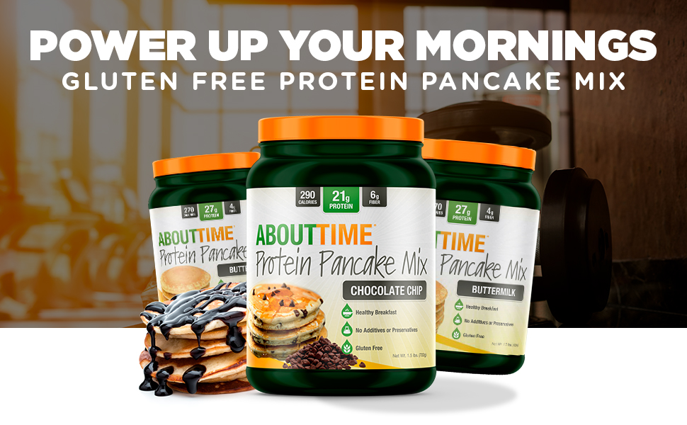 About Time Protein Pancake Mix
