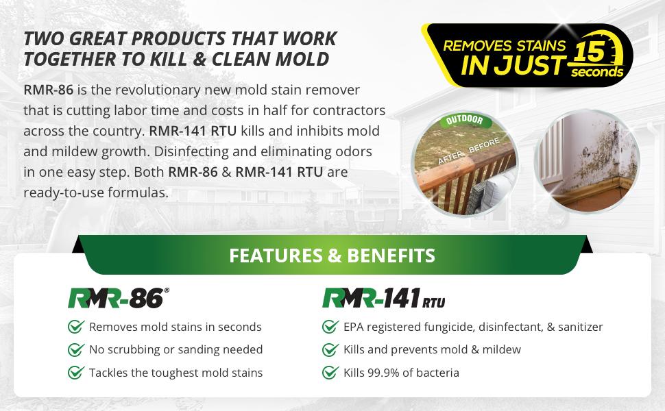 Amazon plete Mold Killer & Remover DIY Bundle Kill Clean