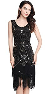 Amazon.com: BABEYOND 1920s Flapper Dress Roaring 20s Great