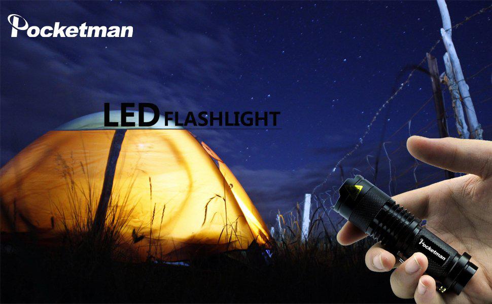 sk68 flashlight 6 pack