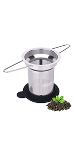 Long handled tea infuser
