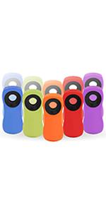 Amazon.com: Clips para bolsa de transporte cubiertos con ...