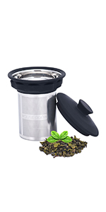 Extremely fine mesh tea infuser