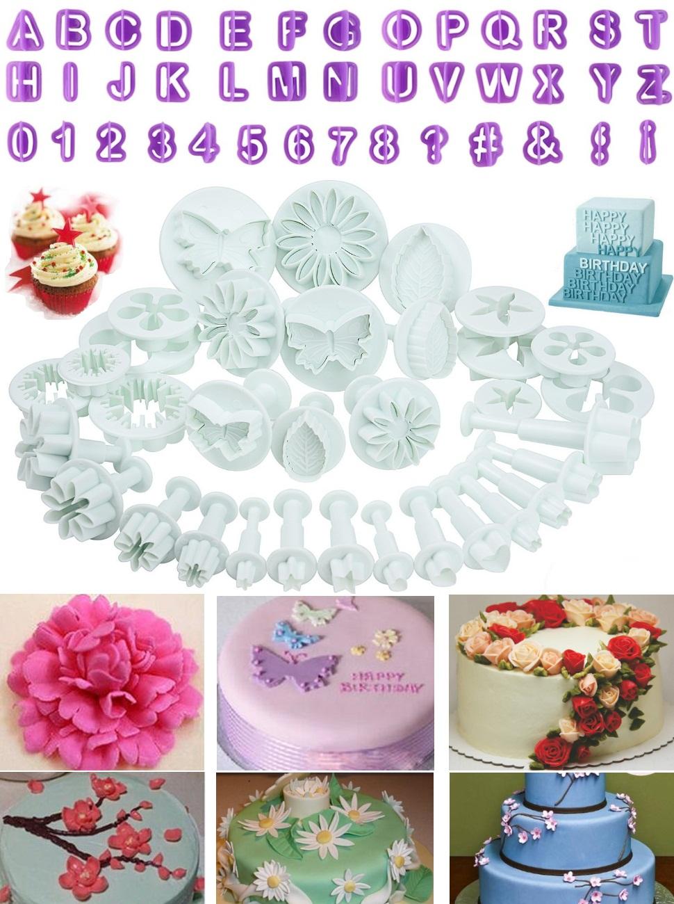Sugarcraft Baking Tool set Cake Decorating Mould Mold Paste Flower Modelling