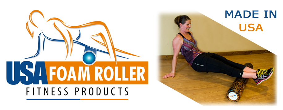 Foam Roller Premium High Density Extra Firm Molded Polypropylene Technology