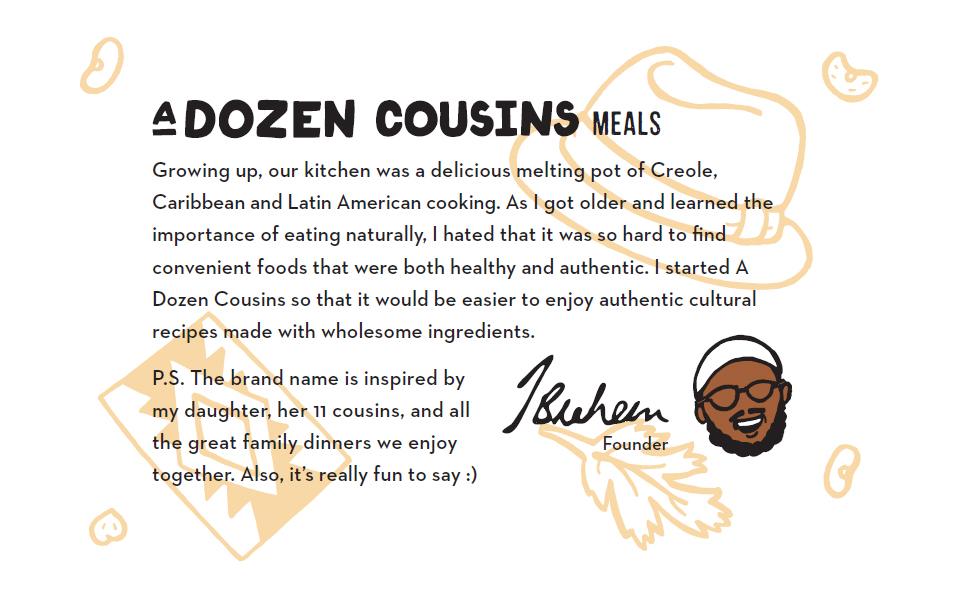 A Dozen Cousins Brand Story