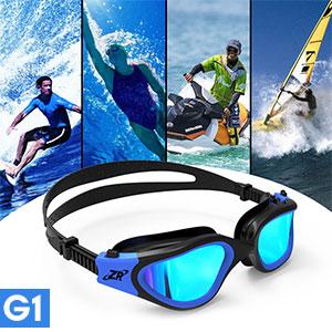 Amazon Com Zionor Swimming Goggles G1 Polarized Swim
