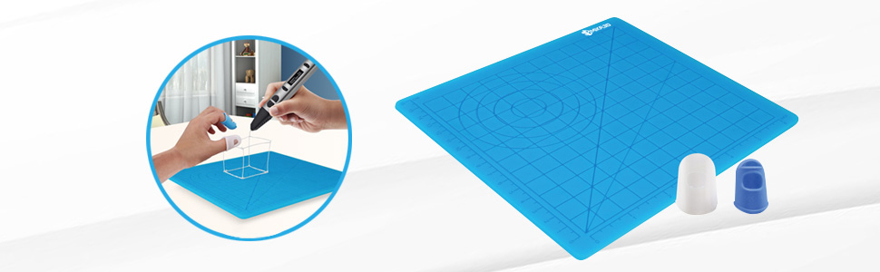 silicone mat for 3d pen drawing