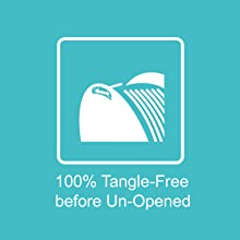 100% tangle-free filament