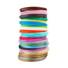 24 colors pla filament refill 3d pen drawing