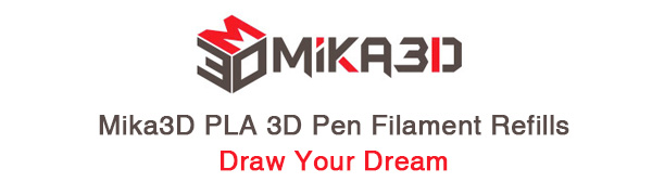 oemmika3d pla 3d pen filament refills draw your dream