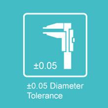diameter tolerance 1.75mm pla