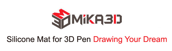 silicone mat for 3d pen drawing your dream oemmika3d