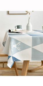 spring tablecloth