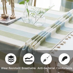 round plastic tablecloth