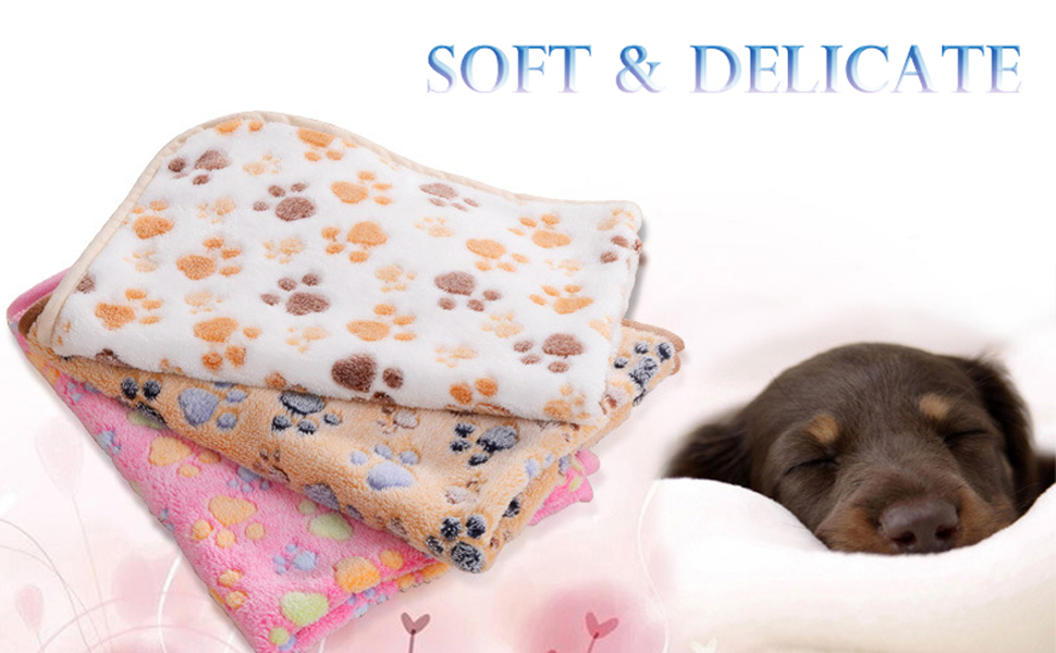 super soft dog blankets for small dog