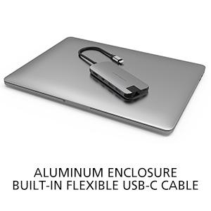 HyperDrive SLIM 8-in-1 USB-C Hub